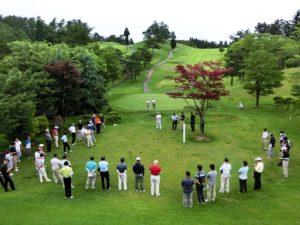 県ゴルフ連盟①